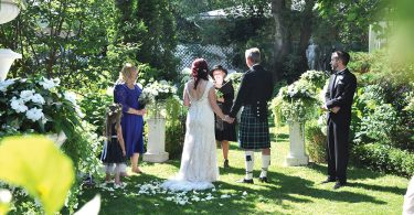 Scottish wedding in Elora